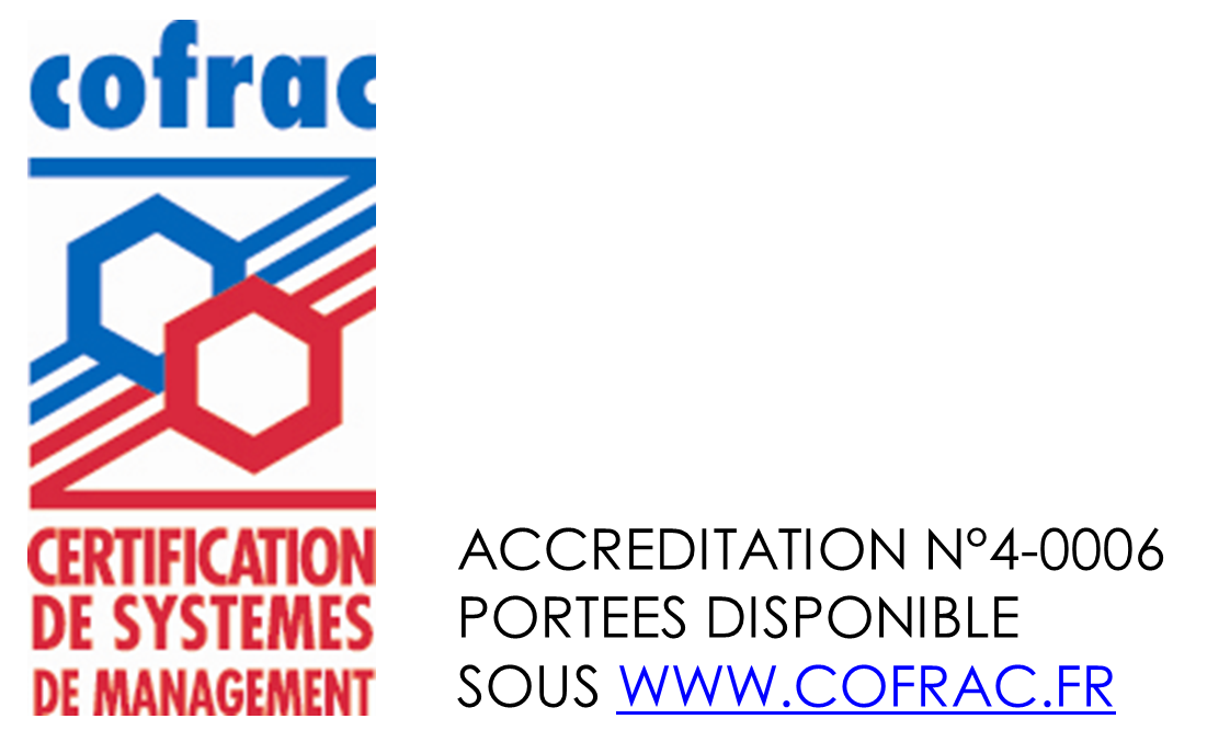Logo COFRAC Certification